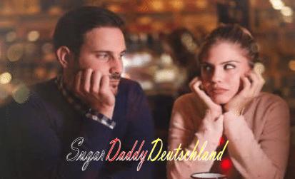 Sugardaddy und Sugarbaby langweilten sich bei einem Date